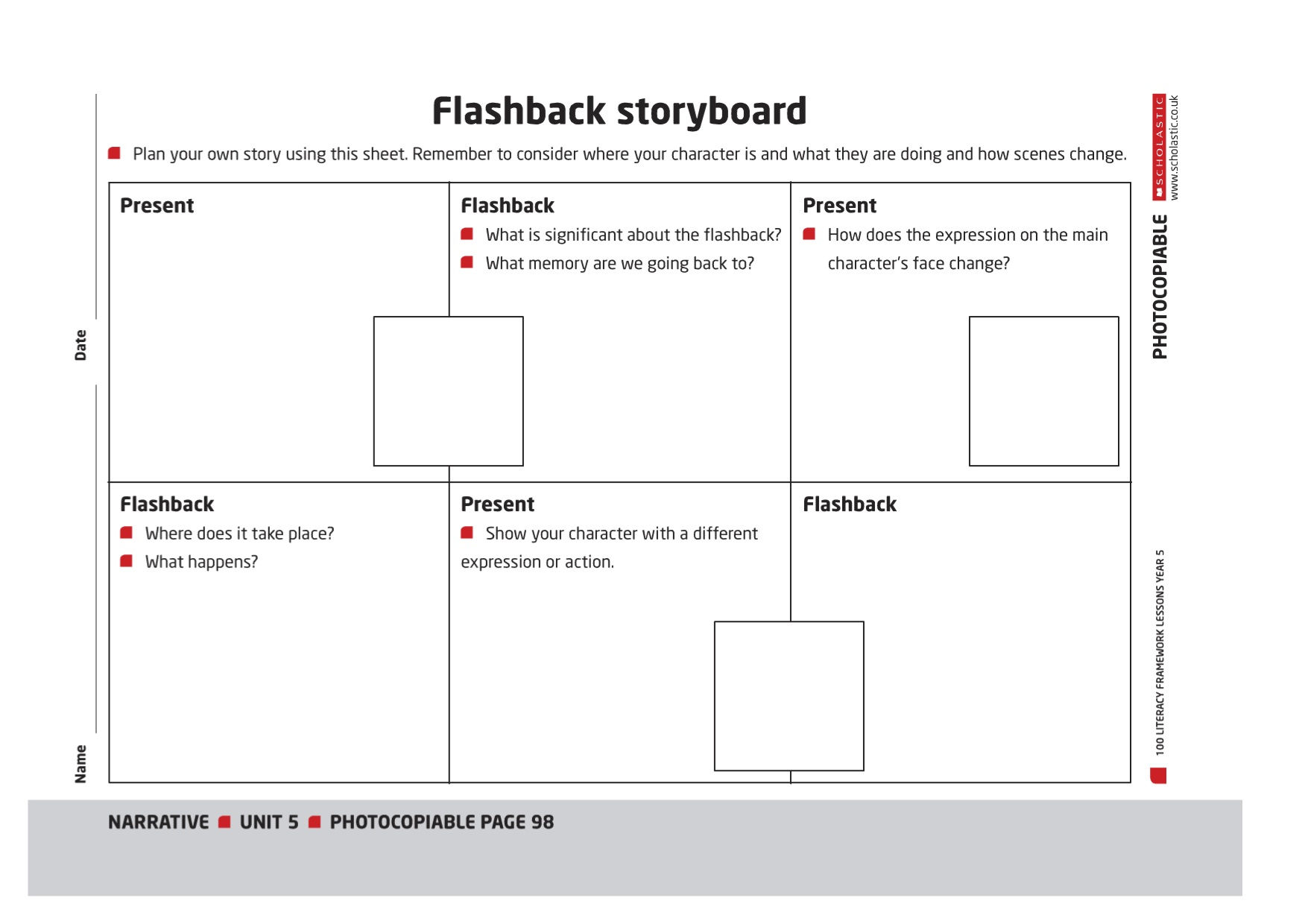 storyboardjpg – Flashback Worksheet